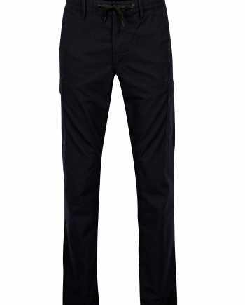 Tmavě modré pánské regular fit kalhoty s kapsami s.Oliver