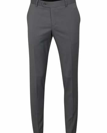 Šedé oblekové vlněné kalhoty Good Son