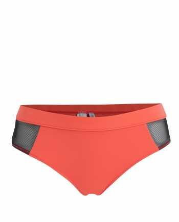 Neonově růžový spodní díl plavek Calvin Klein Underwear