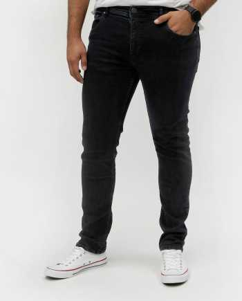 Tmavě modré slim džíny Shine Original