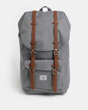Šedý batoh Herschel Supply Little America 25 l
