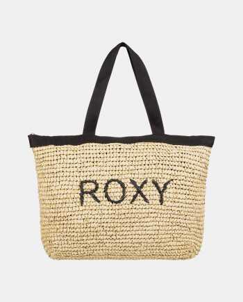 Béžová plážová taška Roxy Heard That Sound