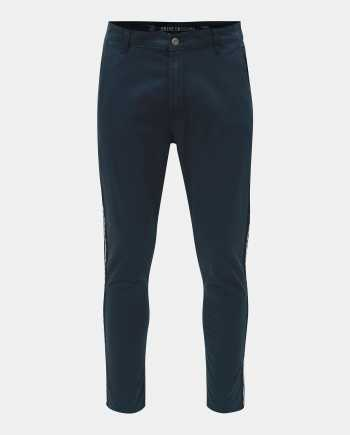 Modré chino kalhoty Shine Original