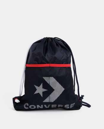 Tmavě modrý vak s potiskem Converse