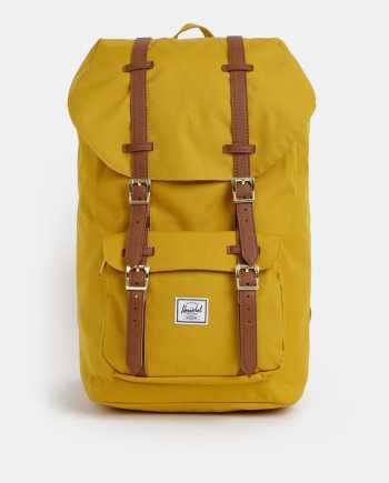 Hořčicový batoh Herschel Supply Little America 25 l