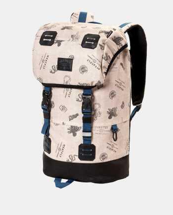 Béžový batoh s pláštěnkou Meatfly 26 l