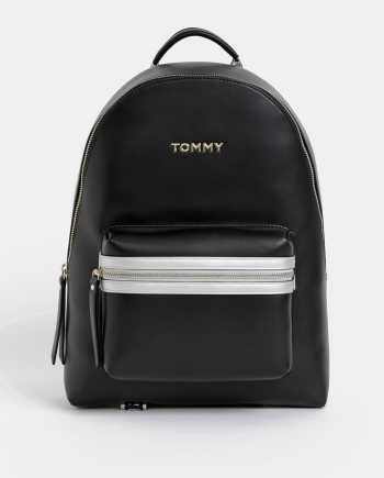 Černý batoh Tommy Hilfiger Iconic