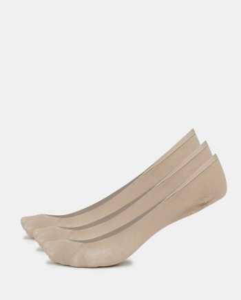 Sada tři párů tělových nízkých ponožek Bellinda