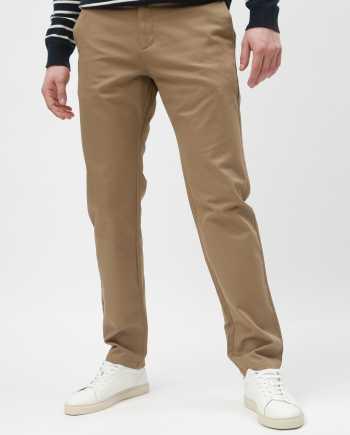 Béžové slim kalhoty Selected Homme Carlo