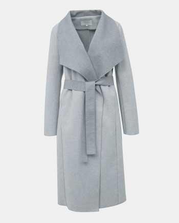 Světle šedý lehký kabát VILA Balis