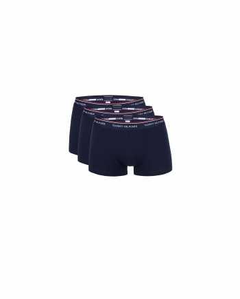 Sada tří bokových boxerek v tmavě modré barvě Tommy Hilfiger