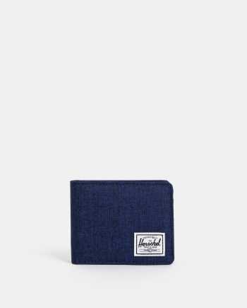 Tmavě modrá pánská žíhaná peněženka Herschel Supply Roy