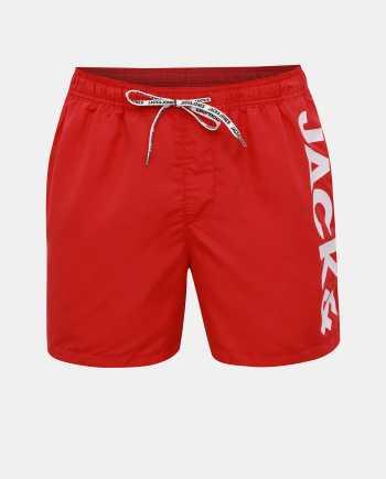 Červené plavky Jack & Jones Cali