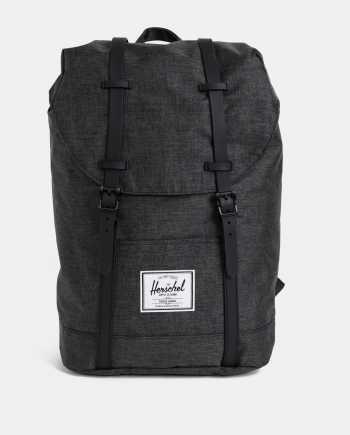Tmavě šedý batoh Herschel Supply Retreat 19.5 l