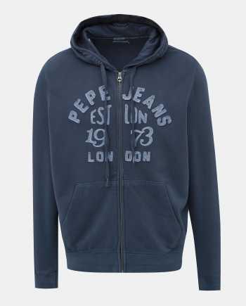 Modrá pánská mikina Pepe Jeans Lope